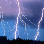 Как защититься от молнии?